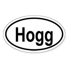 HOGG Oval Decal