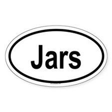 JARS Oval Decal
