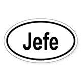 JEFE Oval Decal