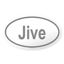 JIVE Oval Decal