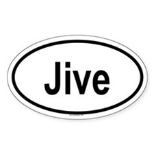JIVE Oval Decal