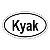 KYAK Oval Decal
