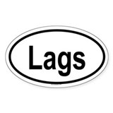 LAGS Oval Decal