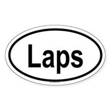 LAPS Oval Decal
