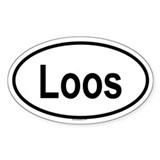 LOOS Oval Decal