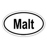 MALT Oval Decal