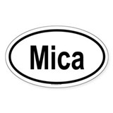 MICA Oval Decal