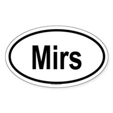 MIRS Oval Decal