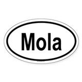 MOLA Oval Decal