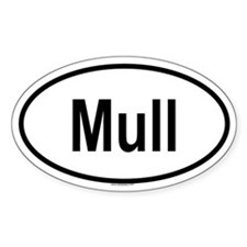 MULL Oval Decal