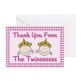 Twincesses Thank You Cards (Pk of 20)