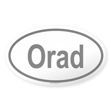 ORAD Oval Decal