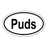 PUDS Oval Decal