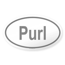 PURL Oval Decal