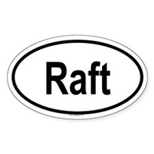RAFT Oval Decal