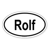ROLF Oval Decal