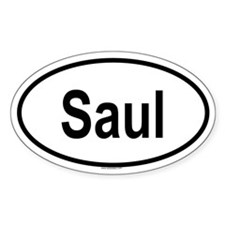 SAUL Oval Decal