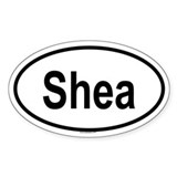 SHEA Oval Decal
