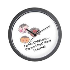 Wear pink Wall Clock