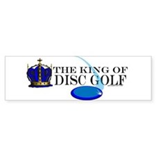 King of Disc Golf2 Bumper Bumper Sticker
