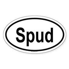 SPUD Oval Decal