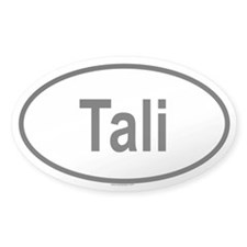 TALI Oval Decal