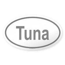 TUNA Oval Decal