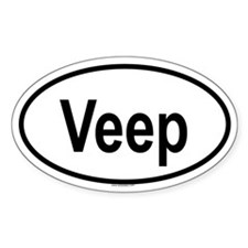 VEEP Oval Decal