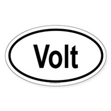 VOLT Oval Decal