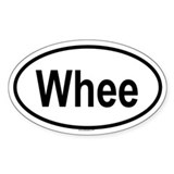 WHEE Oval Decal