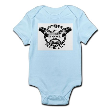 VRWC Red State Infant Creeper