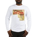 Flat Florida Long Sleeve T-Shirt