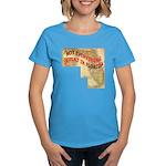 Flat Florida Women's Dark T-Shirt