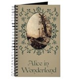 Cute Alice in wonderland Journal