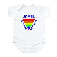 Jamel Gay Pride (#005) Infant Bodysuit