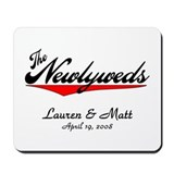 The Newlyweds Mousepad