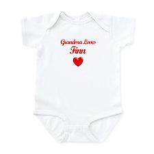 Grandma Loves Finn Infant Bodysuit