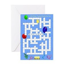 Crossword - Birthday Card
