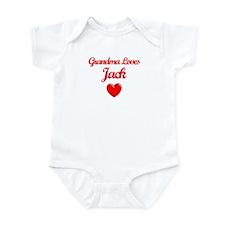 Grandma Loves Jack Infant Bodysuit