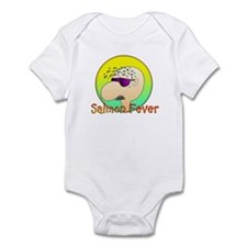 SALMON FEVER Infant Bodysuit