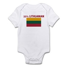 25 PERCENT LITHUANIAN Infant Bodysuit