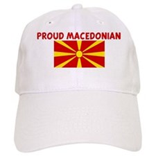 PROUD MACEDONIAN Baseball Cap
