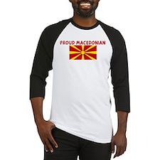 PROUD MACEDONIAN Baseball Jersey