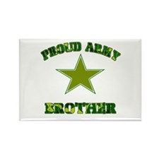Proud Army Brother Rectangle Magnet (100 pack)