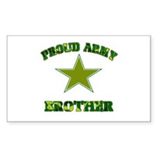 Proud Army Brother Rectangle Decal