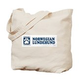 NORWEGIAN LUNDEHUND Tote Bag