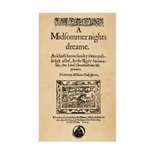 Midsummer Nights Dream Decal