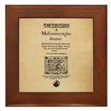 Midsummer Nights Dream Framed Tile