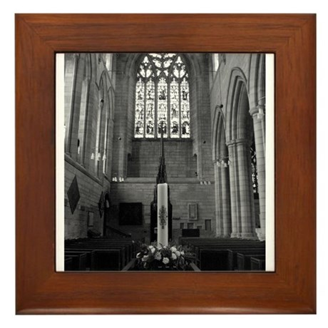Hexham Abbey Framed Tile