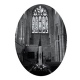 Hexham Abbey Oval Ornament